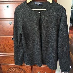 EUC Brooks Brothers one button cardigan size L